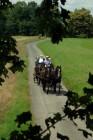 A carriage drive in the Czech Republic.