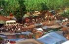 Refugee camp. Rwanda.