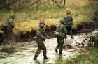 Soldiers of the Devon and Dorset regiment in training at Sennybridge prior to posting to Bosnia.