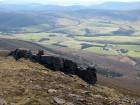 View from Ben Rinnes, Scotland.