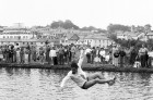 Bude Round Table raft race. 12/08/85.