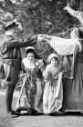 Elizabethan dancers at Buckland Monachorum.