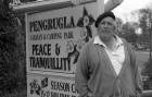 Doug Grocutt of Pengrugla Holiday Park in battle with Restormel Borough Council. 9/5/92. Ref 165/63.