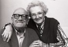 Alfred and Kathleen Jennings of Marhamchurch celibrate 60 years of marriage. 27/12/91. Ref 165/36.