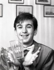 Teenage magician Richard Ternouth of St. Austell. 3/4/91. Ref 164/44.