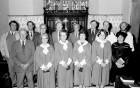 Lawhitton Church Choir.