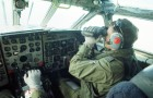 The co-pilot of a Royal Air Force Nimrod.