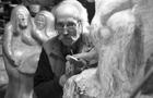 Former radio disc jockey Mike Raven re-invents himself as sculptor Austin Churton Fairman.